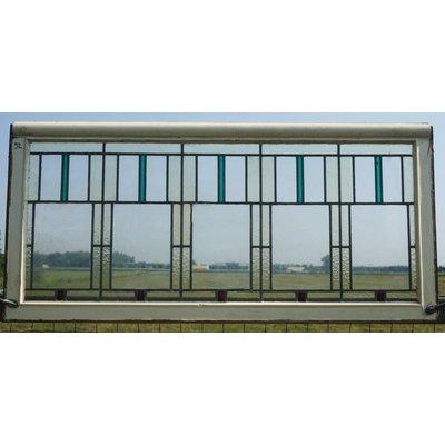 70 x 151,5 cm - Glas in lood raam No. 92
