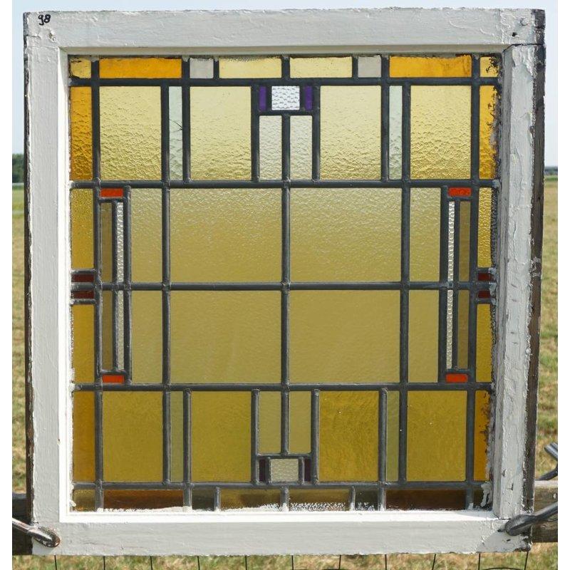 Glas in lood ramen No. 98