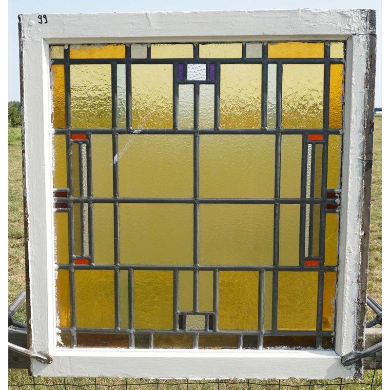 Glas in lood ramen No. 99