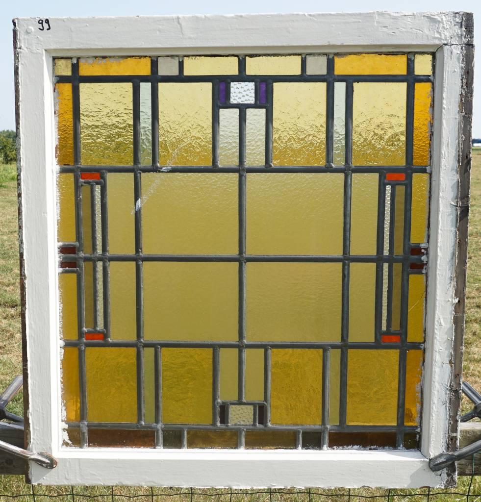 Glas En Lood Ramen.Glas In Lood Ramen No 99