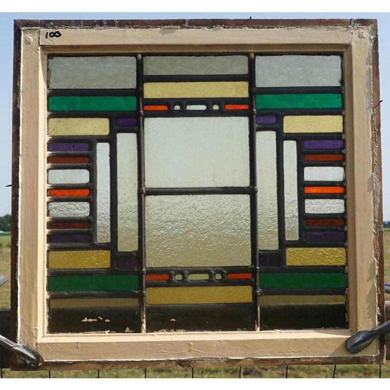 Glas in lood ramen No. 100