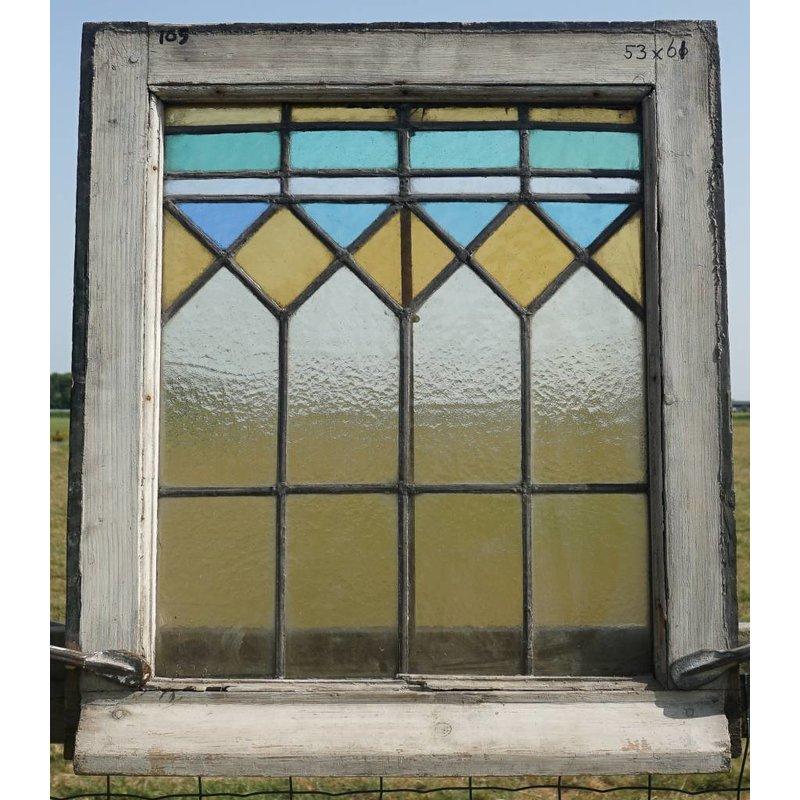 Glas in lood ramen No. 105