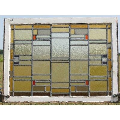 78 x 104,5 cm - Glas in lood ramen No. 108