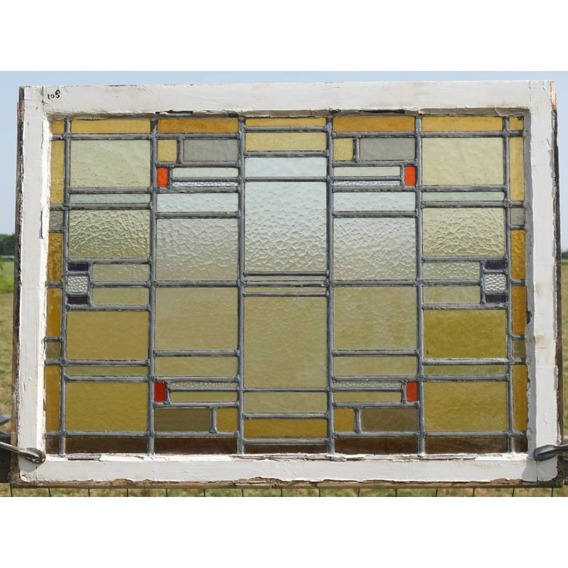 Glas in lood ramen No. 108