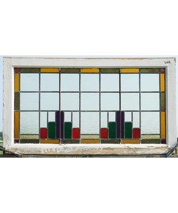 60 x 107 cm - Glas in lood ramen No. 106