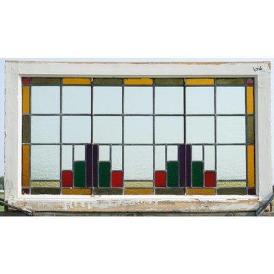 Glas in lood ramen No. 106