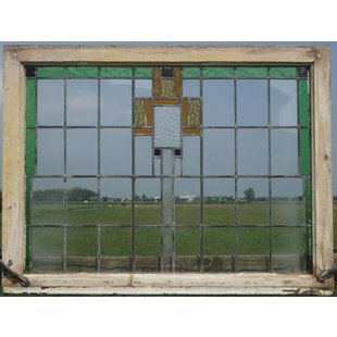 86 x 114 cm - Glas in lood raam No. 102