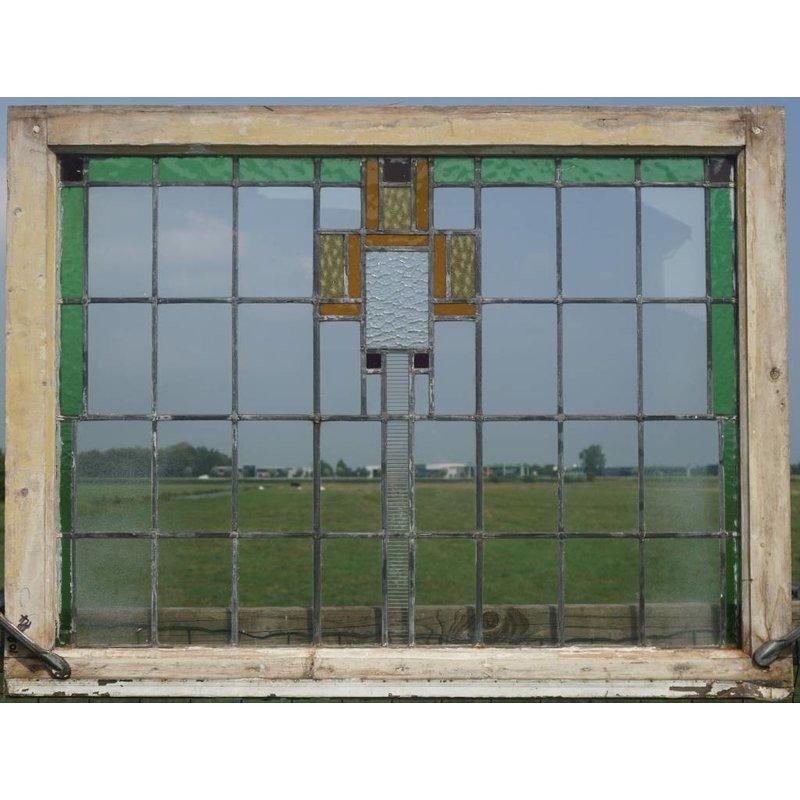 Glas in lood raam No. 102