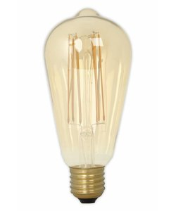 Calex ST64 LED Filament  Edison lamp Gold