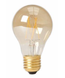 Calex A60 LED Filament Standard lamp Gold