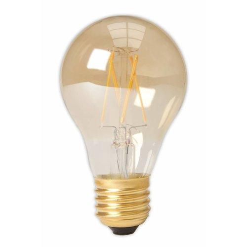 Calex A60 LED Filament Standard lamp Gold