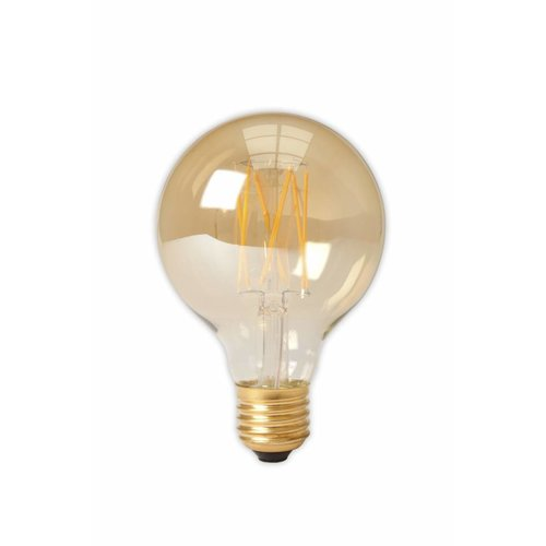 Calex G80 LED globe lamp Gold
