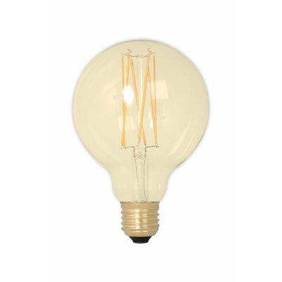 Calex G95 LED Filament Globe lamp Gold