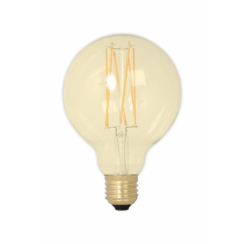 Calex G95 LED Globe lamp Gold