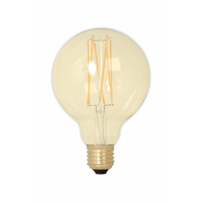 Calex G95 LED Filament Globe lamp Gold 4 watt E27