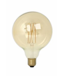 Calex G125 LED Filament Globe lamp Gold