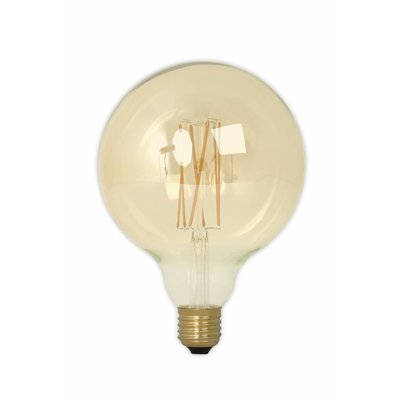Calex G125 LED Globe lamp Gold