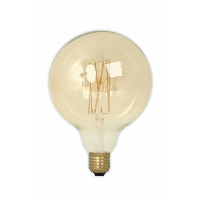 Calex G125 LED Filament Globe lamp Gold