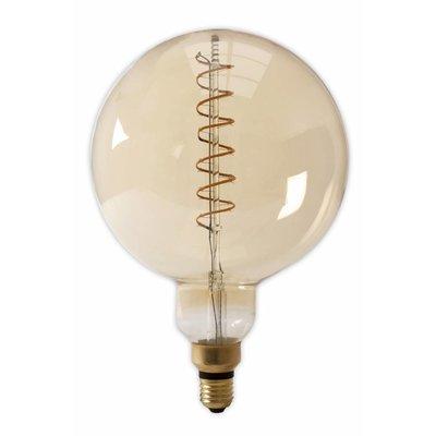 Calex G200 flex XXL LED lamp E27 Gold
