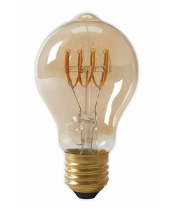 Calex A60 flex LED lamp Gold