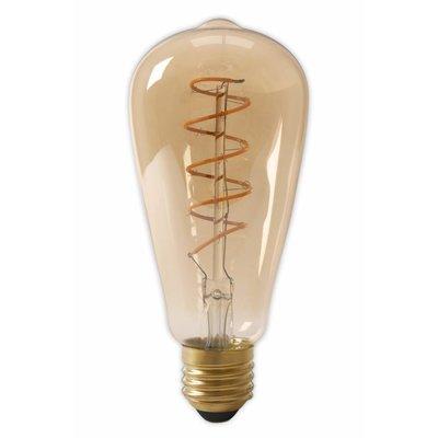Calex ST64 flex LED lamp Gold
