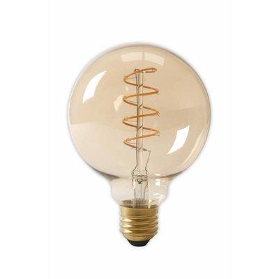 Calex G125 flex LED lamp Gold