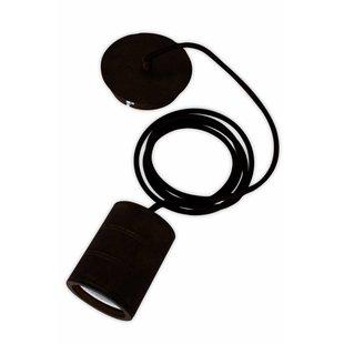 Calex pendant E40 hangfitting zwart