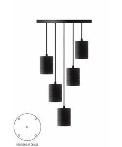 Calex pendant set 5x E40 hangfitting