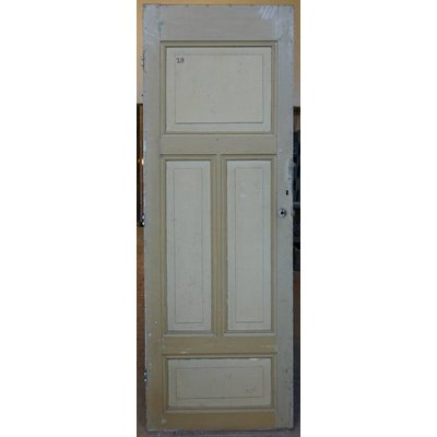 220 x 77 cm - Paneel deur No. 28