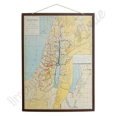Vintage landkaart 'Rijk van David'