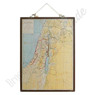 Oude landkaart 'Palestina'