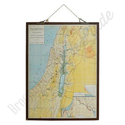 Oude landkaart 'Tijd van aardsvarders'