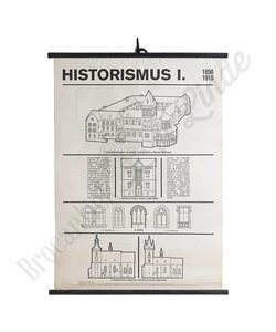 Schoolplaat architectuur 'Historismus I'