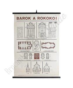 Schoolplaat architectuur 'Rokoko I'
