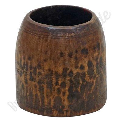 Vintage houten vaas No. 1