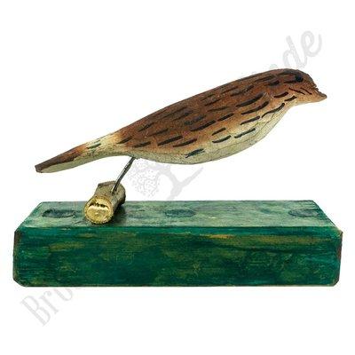 Vintage vogel op stam No. 4