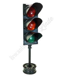 Vintage vloerlamp 'Stoplicht'