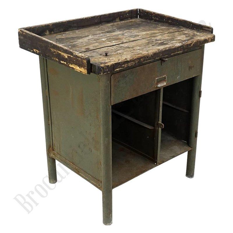 Kleine vintage werkbank 'Maly'
