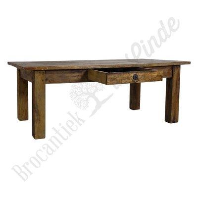 Vintage salontafel hout