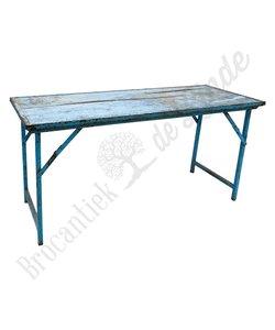 Vintage markttafel 'blue'