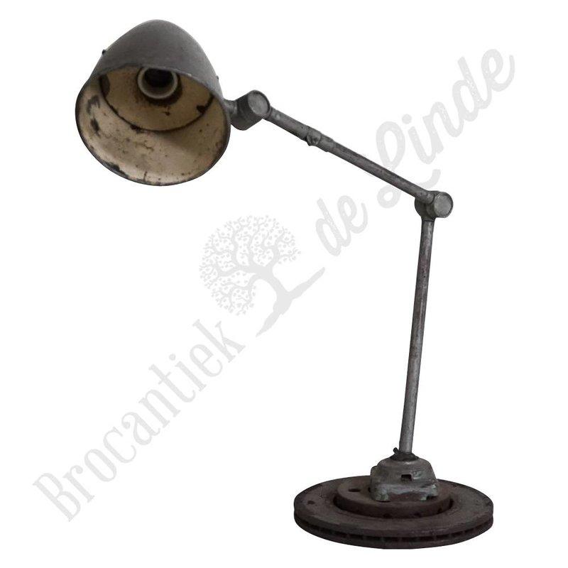 Vintage monteurslamp 'Grey Python'