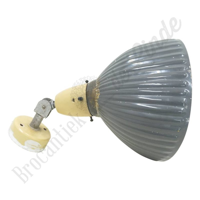 Vintage wandlamp 'Grey'