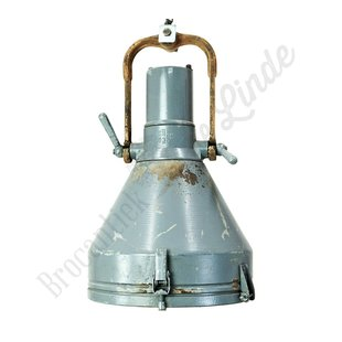 Stoere industriële hanglamp 'Szary'