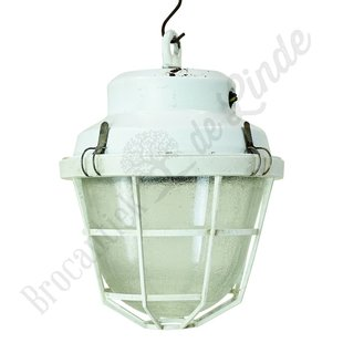 Vintage hanglamp 'White cage'