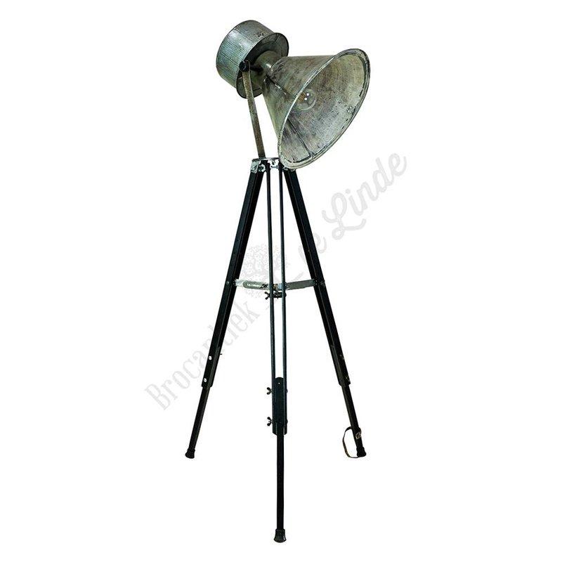 Industriële statieflamp  'Janek Tripod'