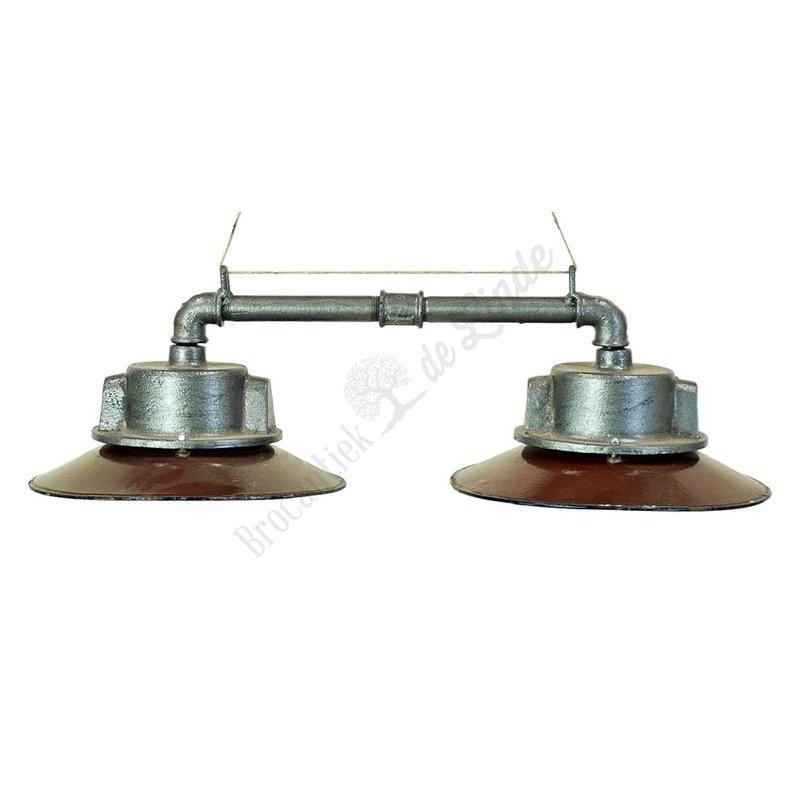 Vintage hanglamp 'Duo'