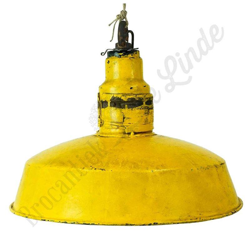 Vintage hanglamp 'Zluta'