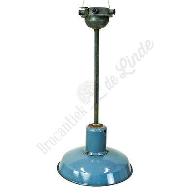 Industriële lamp 'Bauhaus Blue Extended'