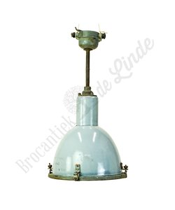 Vintage hanglamp 'Emaille Tyc'