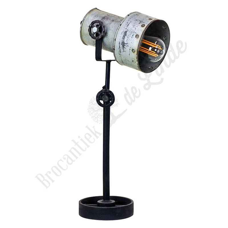Stoere tafellamp 'Industry Spot'